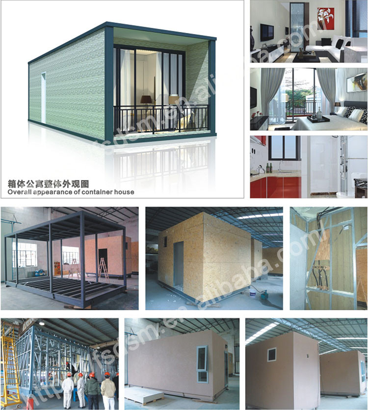 guangzhou luxury solar power 40ft container home