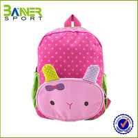 Factory hot sale lovely backpack school bags girls