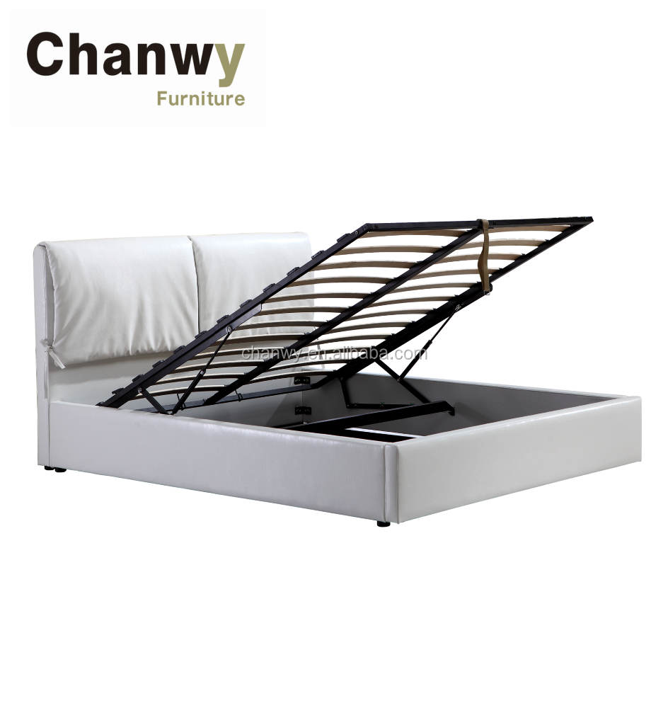 Queen Size Storage Flat Bed Frame With Gas Lift Buy Queen Size Bed Frames Storage Bed Frame With Gas Lift Flat Bed Frame Product On Alibaba Com