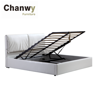 Queen Size Storage Flat Bed Frame With Gas Lift Buy Queen Size Bed