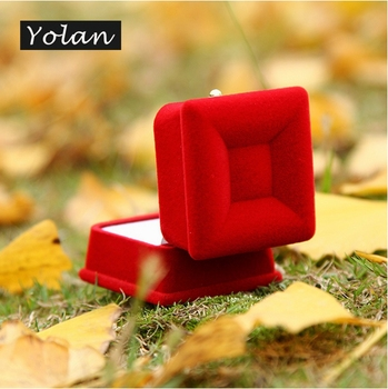 velvet jewelry box ring jewelry box luxury wholesale