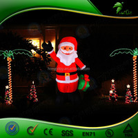 Wholesale inflatable Santa Claus for Christmas/Innovative products for christmas