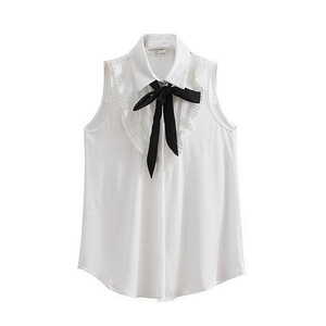 Wholesale Price Women Short Sleeve Blouse