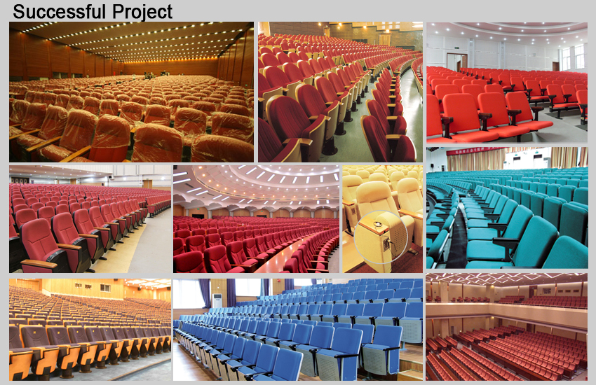 Juyi Telescopic Seating Telescopic Theater Seating