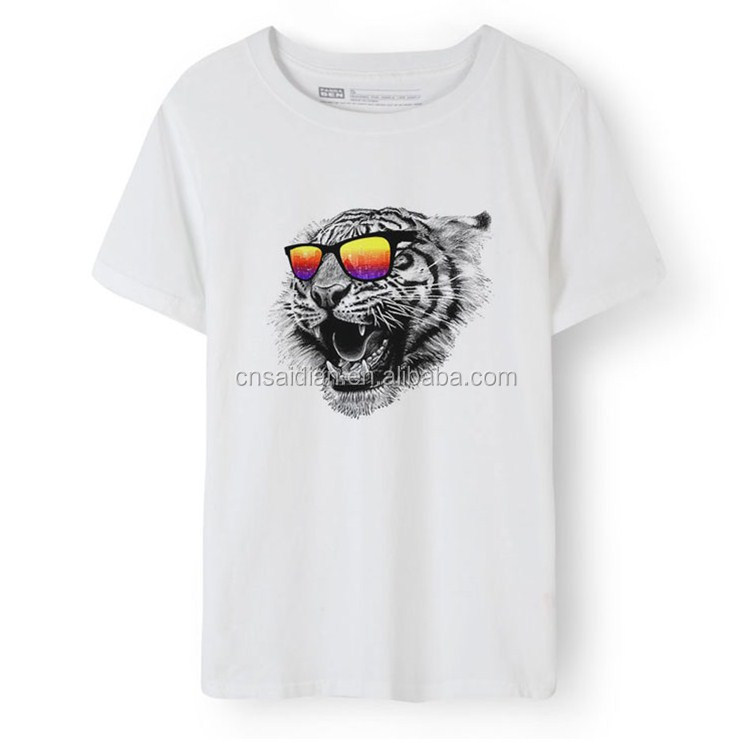 Cheap Price High Quality Guangzhou Manufacturer Custom sublimation print men's T shirt