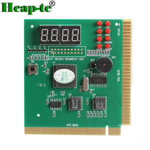 4 Digit LCD Display PC Analyzer Diagnostic Card Motherboard Post Tester Computer Analysis PCI Card
