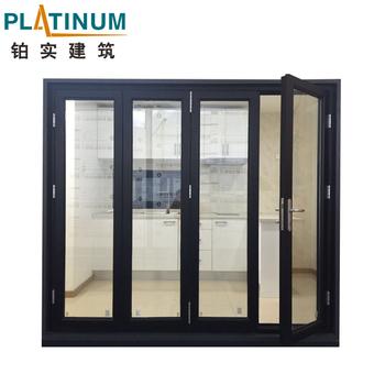 Factory Price Aluminum Folding Door/fashionable Design Wooden ...