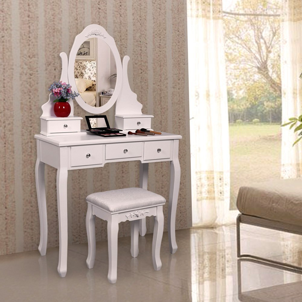 Bedroom Furniture Makeup Table Professional Mdf Dessing Table With Mirror    Buy Mdf Dressing Table,Makeup Vanity,Makeup Table Professional Product On  ...