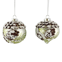 Colored Shatterproof Tree Hang Balls Glass Decorations Ornaments Christmas Ball
