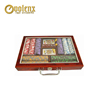 Wholesale brand new Poker Chip Box Set (BV&SGS) wooden box