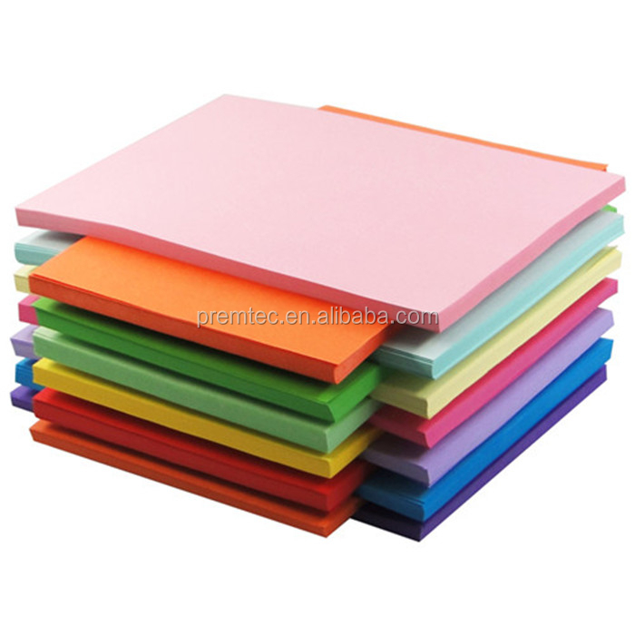 2018 super color A4 copy paper pink yellow green blue