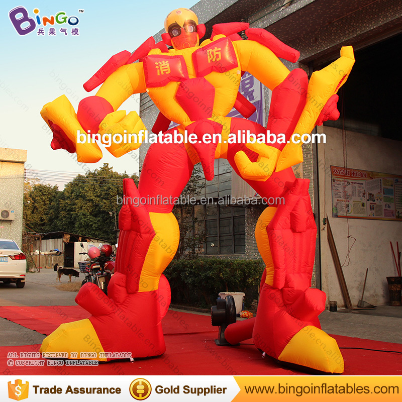 Giant inflatable Transformers / inflatable bumblebee for fire safety education