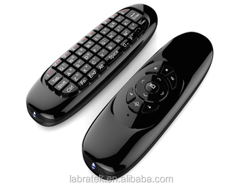 C120 Universal Onida Tv Remote Control With Mini Wireless Air Mouse  Keyboard Support All Android Window Mac Linux - Buy Onida Tv Remote Control  With