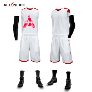 Custom new design sublimated basketball jersey