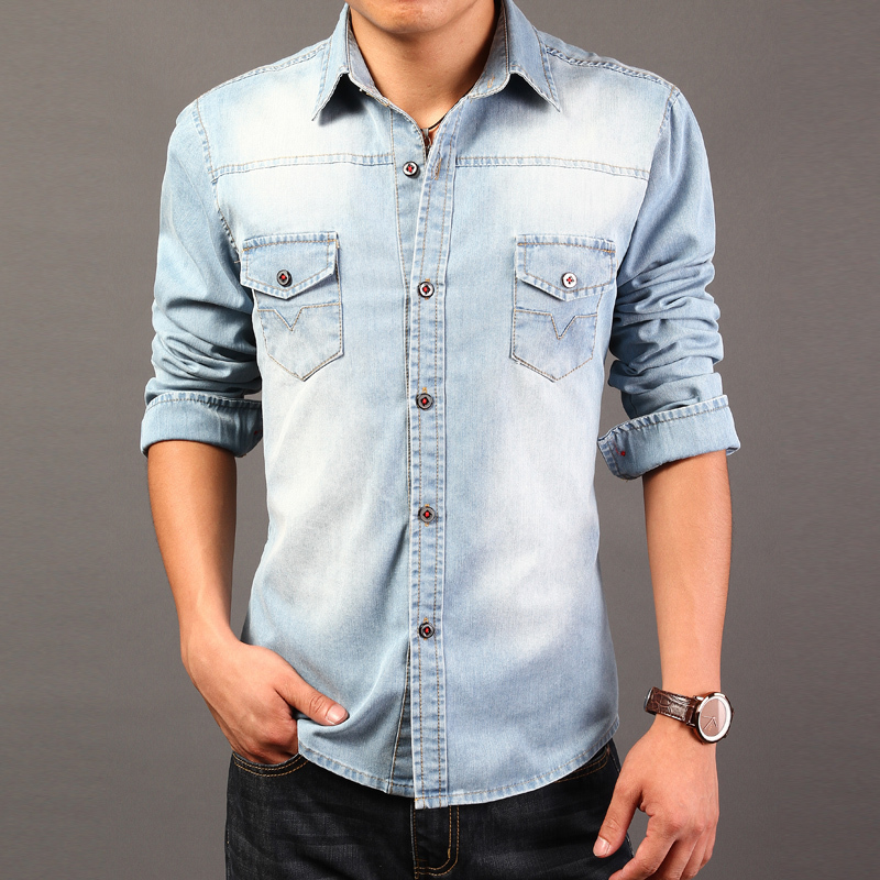 With so many styles of shirts, including short sleeve, long sleeve, and pull overs, there is something for every taste. Pair the comfortable and casual look with a bomber jacket during the fall or winter or spice up your summer look with shorts and a casual denim shirt.