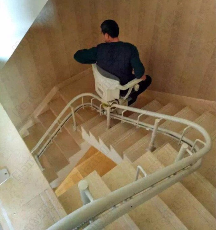 Home Chair Stair Lift Old People Hydraulic Personal Lifts