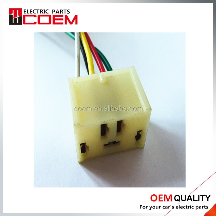 The 5 hole connector DJ7057-6.3-21 Automotive connector Automobile modification plug Distribution terminal with wire