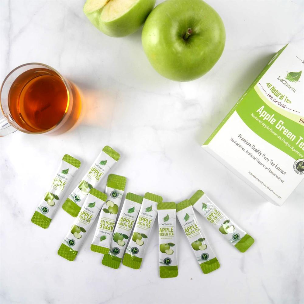 Green Food Healthy Instant Apple Tea Extract Apple Green Tea Powder - 4uTea   4uTea.com