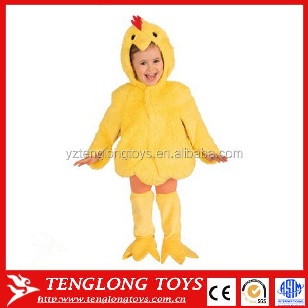 pollo estilo jugar ropa traje animal para nios