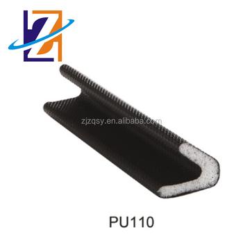 V Profile Pe Pu Coating Type Foam Seal Strip Door And Window Weather Self Adhesive Rubber Strips