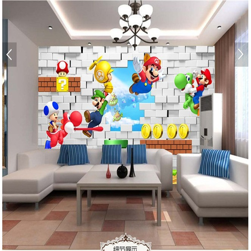 Achetez En Gros Mario Papier Peint En Ligne à Des