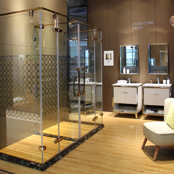 3 Sided Free Standing Glass Shower Enclosure With Iso Standard - Buy ...