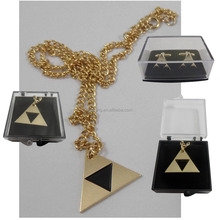 Promotional Chain Necklace Gold Chain Custom Triangle Necklace