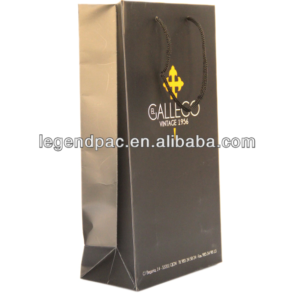 Fashion high quality wine carrier bag