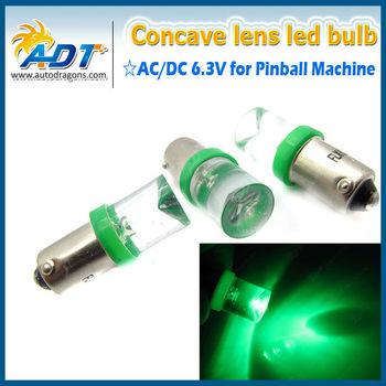T10 194 #555 Ba9s #44 #47 Led 6v Pinball Game Machine Bulb