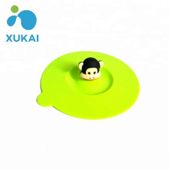 2015 Promotional gift Food Grade Silicone Cup Cover