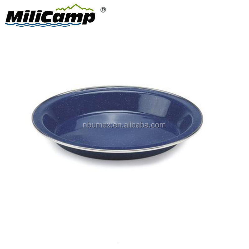 Outdoor wholesale camping enamel metal dishes