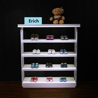 Factory Direct Selling Wood Children Shoes Display Rack Online