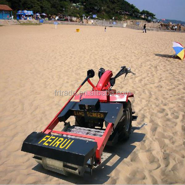 beach cleaning machine for removing debris from beach