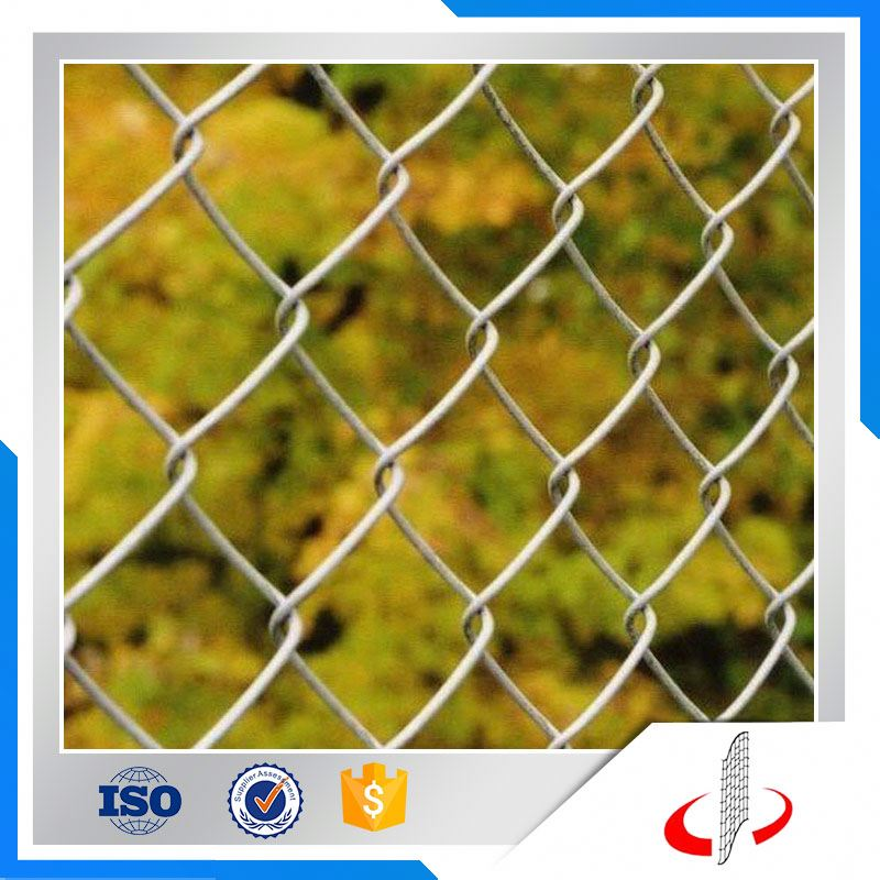 PVC Coated Woven Diamond Pattern Chain Link Fence