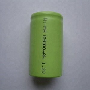 Cheap price D type 12v 7000mah nimh battery pack for emergency light