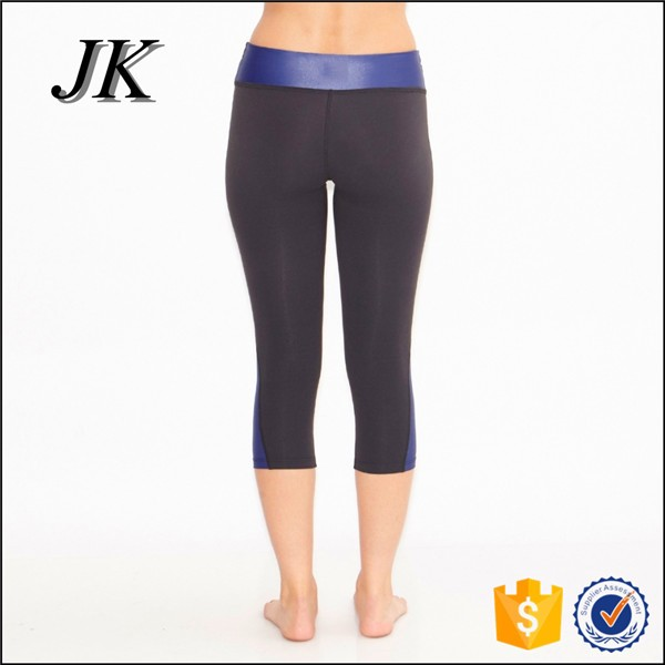 Wholesale women wear compression tight Capri yoga pants
