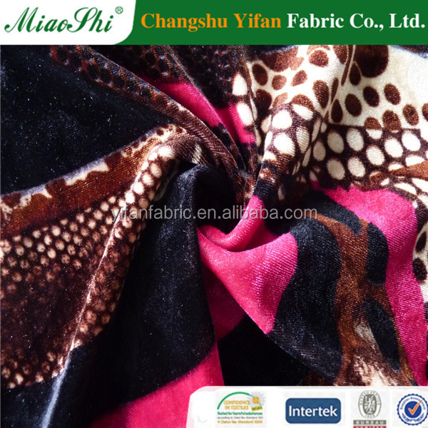 2016 winter clothes fabric making for down jacket lower price changshu factory
