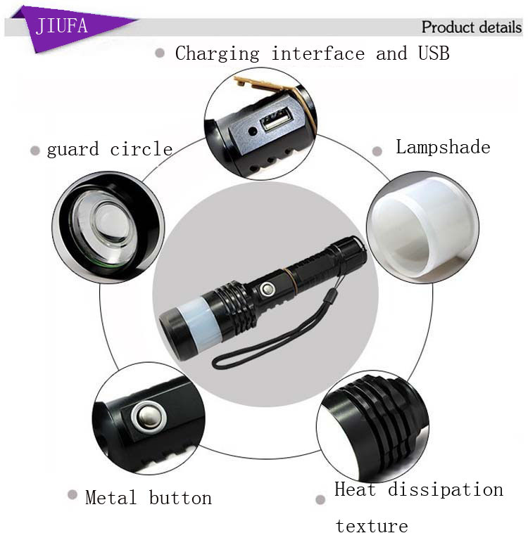Lovely New Design High Lumen Tactical Flashlight