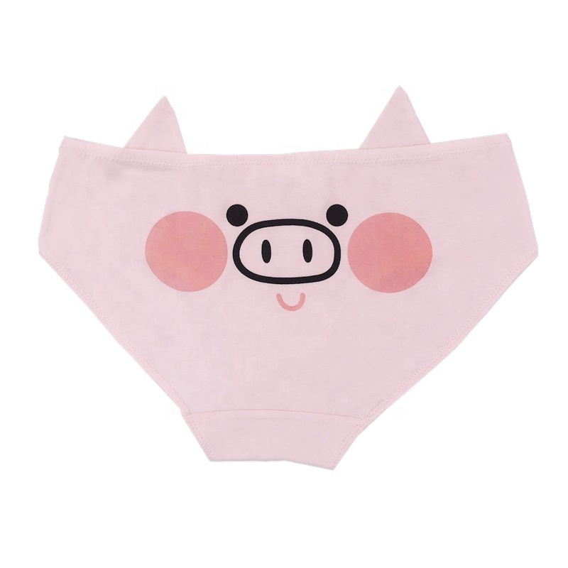 Girls' Clothing Hot Sales Modal Cotton Briefs Fashionable Breathable Sweat Cartoon Animal Cute Girl Underwear Panties Promotion Skillful Manufacture Underwear