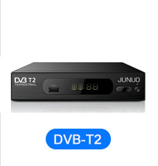 Junuo Set Top Box Factory Support Irdeto 2 Power vu Auto Biss Conax Satellite Receiver