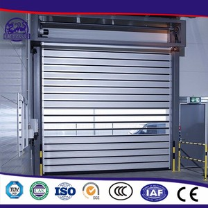 Overload Is Strong Easy To Clean Roll Up Screen Aluminum Roll Up Door