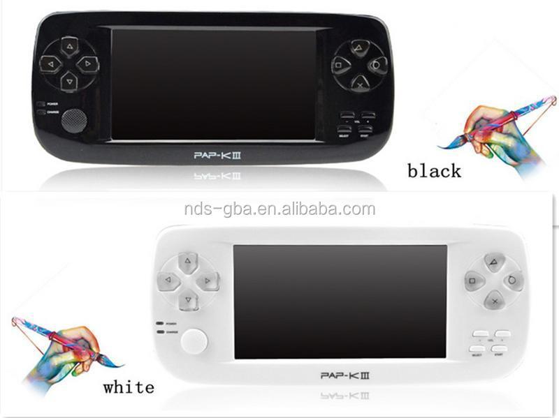 4.3 Inch 128 Bit Pap-k3 Sega/arcade Game Player With 600 Games ...