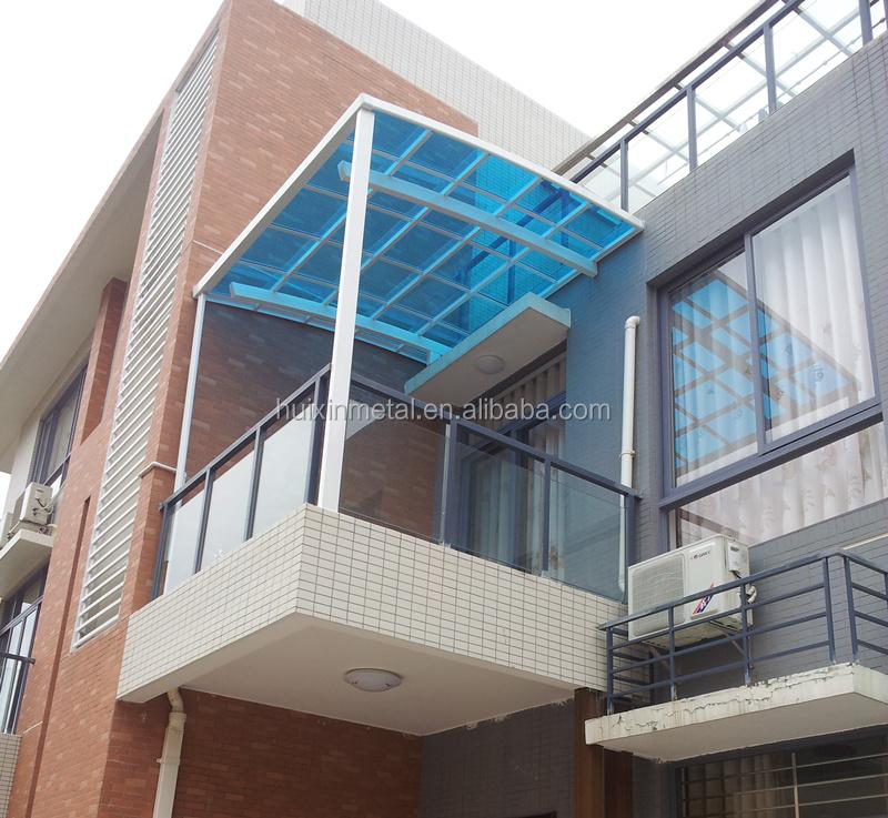 High grade aluminium patio rain awning rain shade balcony for Balcony canopy
