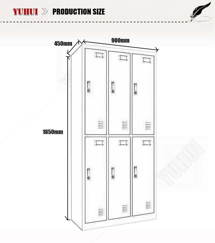 Average Gym Locker Room Size