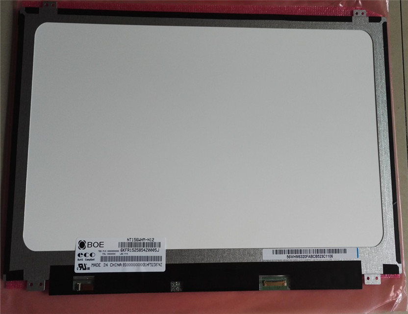 China LCD Display Pannello Led Per Notebook NT156WHM -N12
