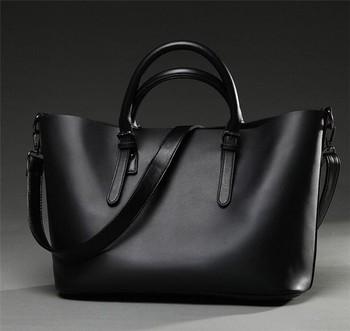 Hot Sale Euro America Simple Fashion Latest Black Ladies Bags ...