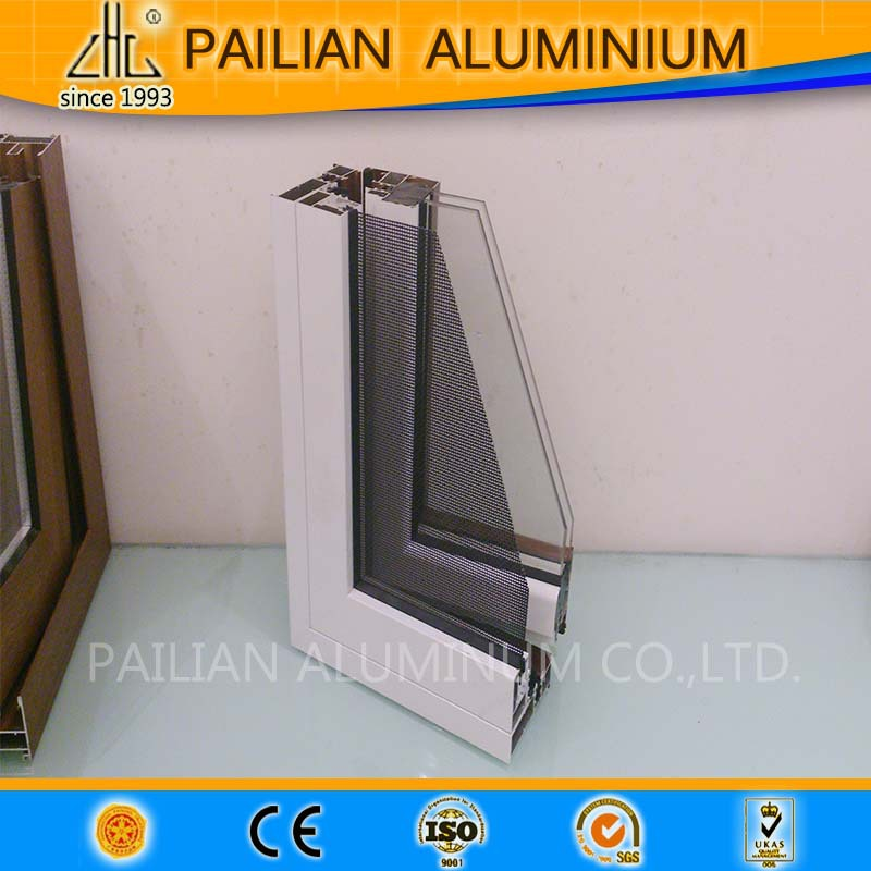 High Quality Standard Size Thermal Break Openable Aluminium Door and Windows Factory