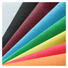 parallel cross 100 polyester spunlaced non woven fabric manufacturer for disposable mop from China