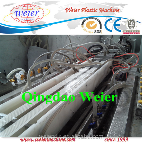 u channel upvc cable duct profile production line/ upvc trunking profile extrusion machine
