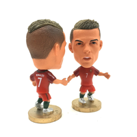 Football player figure toy;Ronaldo plastic figure; pvc custom figure for collcetion